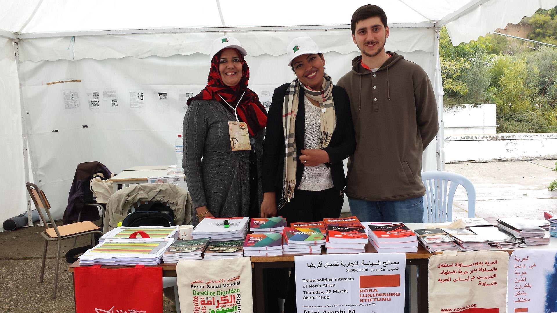 Weltsozialforum 2015 in Tunis